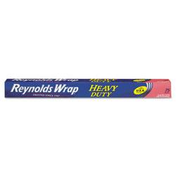 Reynolds Heavy Duty Aluminum Foil Roll, 18 in x 75 ft, Silver, 20/Carton