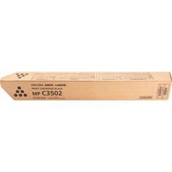 Ricoh Toner Cartridge, f/ MPC3002, 28,000 Page Yield, Black