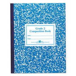 Roaring Spring Paper Grade School Ruled Composition Book, Manuscript, Blue, 9.75 x 7.75, 50 Sheets