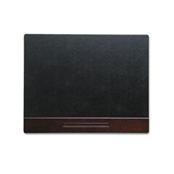 Rolodex Wood Tone Desk Pad, Mahogany, 24 x 19
