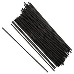Royal   Sip Straws, 7.5 in, Black, 10000/Carton