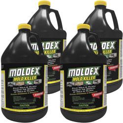 Rust-Oleum Mold and Mildew Killer, Bleach-Free, 1 Gallon, 4/CT