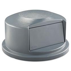 Rubbermaid Dome Top, 44 Gallon, Structural Foam, Gray