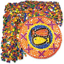 Roylco DoubleColor Mosaic Squares