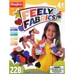 Roylco Feely Fabrics, 6 inWx6 inH, 228/BX, Assorted