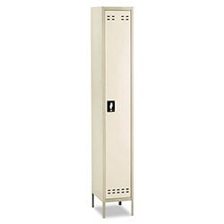 Safco Single-Tier Locker, 12w x 18d x 78h, Two-Tone Tan