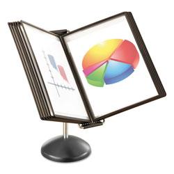 Safco Desktop Reference System, 10 Pockets