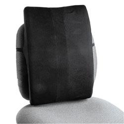 Safco Remedease Full Height Backrest, 14w x 3d x 19.5h, Black