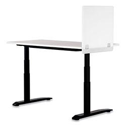 Safco 7515 Series Wellness Panel, 23.5 x 2.5 x 23.5, Acrylic, White