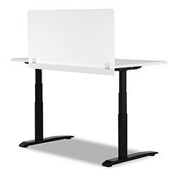 Safco 7516 Series Wellness Panel, 47.5 x 2.5 x 23.5, Acrylic, White