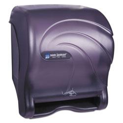 San Jamar Oceans Smart Essence Electronic Towel Dispenser,14.4hx11.8wx9.1d, Black, Plastic