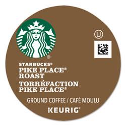 Starbucks Pike Place Coffee K-Cups Pack, 24/Box, 4 Box/Carton