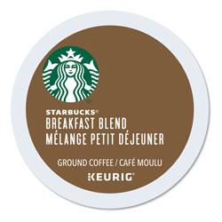 Starbucks Breakfast Blend K-Cups, 24/Box