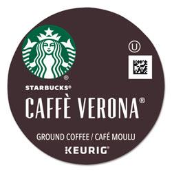 Starbucks Caffe Verona Coffee K-Cups Pack, 24/Box, 4 Boxes/Carton
