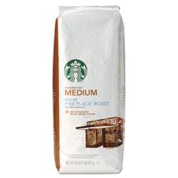 Starbucks Whole Bean Coffee, Decaf Pike Place Roast, 1 lb Bag