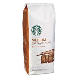 Starbucks Whole Bean Coffee, Pike Place Roast, 1 lb Bag