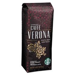 Starbucks Coffee, Caffe Verona, Ground, 1lb Bag