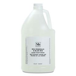Soapbox Hand Soap, Sea Minerals and Blue Iris, 1 gal Bottle