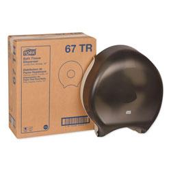 Tork Jumbo Bath Tissue Dispenser, 12.9 x 5.8 x 14.9, Smoke