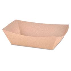 SCT Paper Food Baskets, Brown Kraft, 1 lb Capacity, 1000/Carton