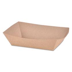 SCT Paper Food Baskets, Brown Kraft, 2 lb Capacity, 1000/Carton