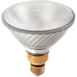 Satco Halogen Reflector Bulb, 80 Watts