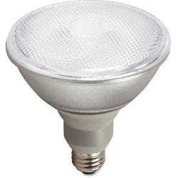 Satco CFL Spiral Bulb T2, 23W, 1100 Lumens, 3/BX, White