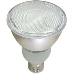 Satco CFL PAR30 Bulb T2, 15W, 700Lumens, WE/BN/RD