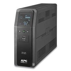 APC BR1000MS Back-UPS PRO BR Series SineWave Battery Backup System, 10 Outlets, 1000VA, 1080 J