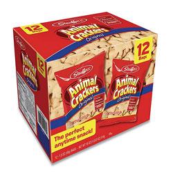 Stauffer's Animal Crackers, 1.5 oz Bag, 12/Box