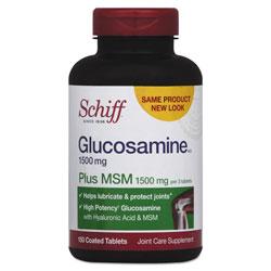 Schiff Glucosamine Plus MSM Tablet, 150 Count
