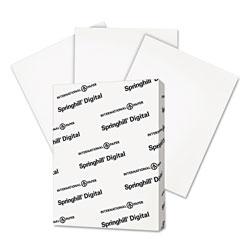 Springhill Digital Vellum Bristol White Cover, 67 lb, 8.5 x 11, Vellum White, 250/Pack