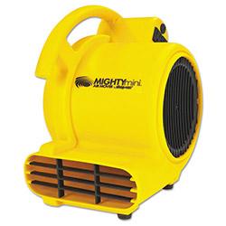 Shop Vac Mini Air Mover, Yellow, 8 in, Plastic, 500 cfm