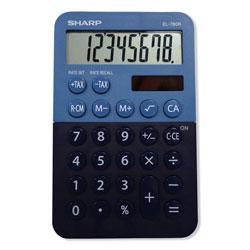 Sharp EL-760RBBL Handheld Calculator, 8-Digit LCD