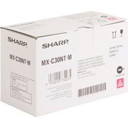 Sharp Toner Cartridge for MX-C300, 6000 Page Yield, Magenta