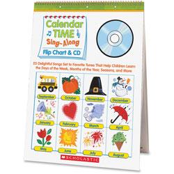 Scholastic CD/Flip Chart, 20.7 in x 15 in x .2 in