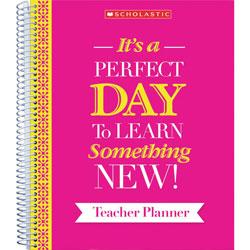 Scholastic Teacher Inspiration Planner, 9-3/5 inWx1 inLx11 inH