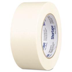 Shurtape CP-83-2 Utility Grade Masking Tape, 1.88 in x 60.1 yds, Natural