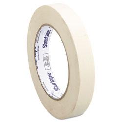 Shurtape CP-83-3/4 Utility Grade Masking Tape, 0.75 in x 60 yds, Natural