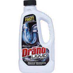 Drano Liquid Drain Cleaner, 32oz Safety Cap Bottle
