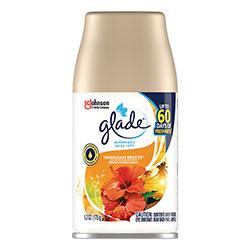 Glade Automatic Air Freshener, Hawaiian Breeze, 6.2 oz, 6/Carton