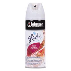 Glade Air Freshener, Super Fresh Scent, 13.8 oz Aerosol, 12/Carton