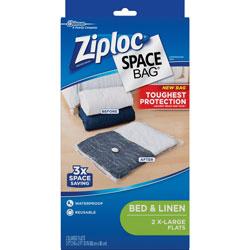 Ziploc® Space Bags, XL Flat, 2/PK