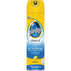 Pledge Furniture Spray, Dust and Allergen, 9.7 oz., 6/CT