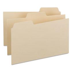 Smead Manila Card Guides, 1/3-Cut Top Tab, Blank, 5 x 8, Manila, 100/Box