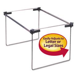 Smead Hanging Folder Frame, Letter/Legal Size, 12-24 in Long, Steel, 2/Box