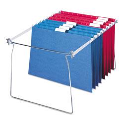 Smead Hanging Folder Frame, Letter Size, 23-27 in Long, Steel, 2/Pack