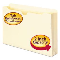 Smead Manila File Jackets, 2-Ply Straight Tab, Legal Size, Manila, 50/Box