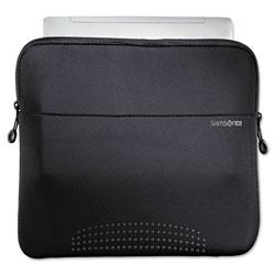 Samsonite 14 in Aramon Laptop Sleeve, Neoprene, 14-1/2 x 1 x 10-1/2, Black