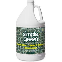 Simple Green Carpet Cleaner, Deodorizes, Nonionic, 1 Gallon, 6/ct, WE